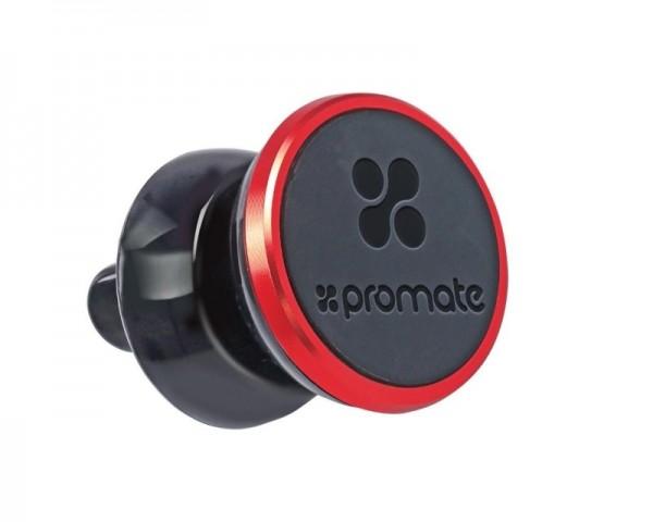 PROMATE VentGrip Universal Anti-Slip Strong Magnet držač za automobil crveni