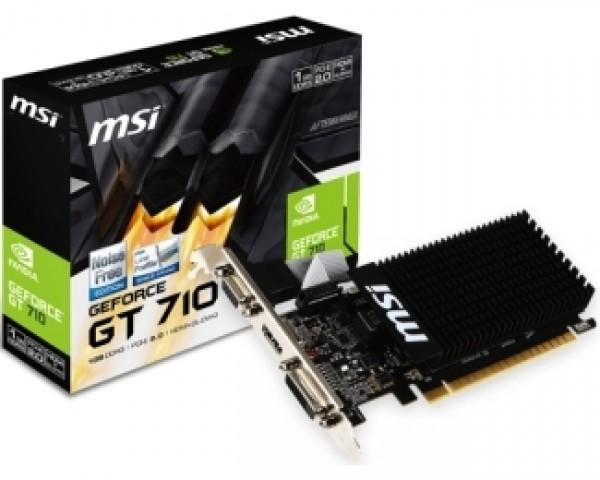 MSI nVidia GeForce GT 710 1GB 64bit GT 710 1GD3H LP