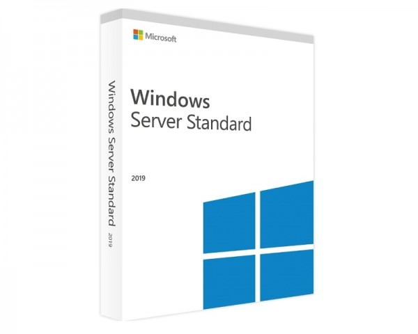 MICROSOFT Windows Server 2019 Standard 64bit English DSP OEI DVD 16 Core (P73-07788)