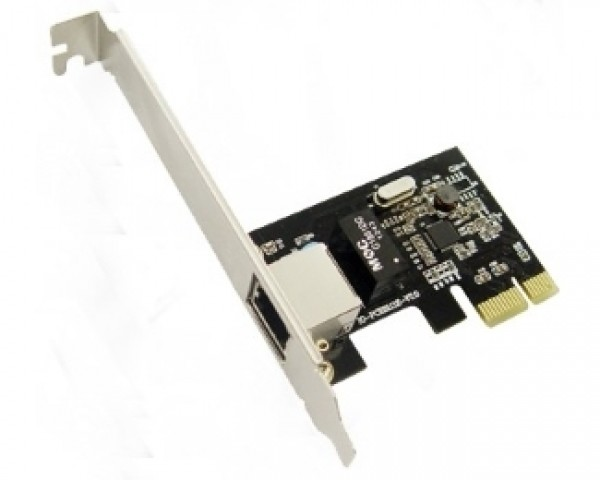 E-GREEN PCI-Express kontroler 1-port Gigabit Ethernet