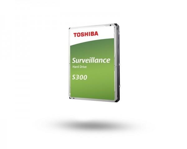 TOSHIBA S300 Surveillance 3.5'' SATA 4TB hard disk HDWT140UZSVA