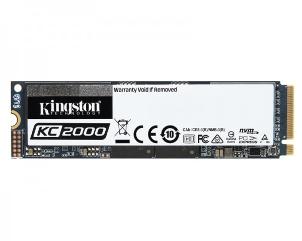 KINGSTON 500GB M.2 NVMe SKC2000M8500G SSDNow KC2000 series