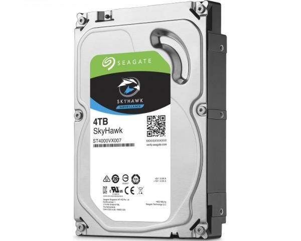 SEAGATE 4TB 3.5'' SATA III 64MB ST4000VX007 SkyHawk Surveillance HDD