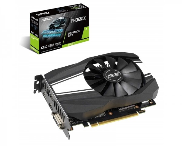 ASUS nVidia GeForce GTX 1660 Ti 6GB 192bit PH-GTX1660TI-O6G