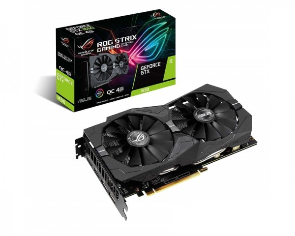 ASUS nVidia GeForce GTX 1650 4GB 128bit ROG-STRIX-GTX1650-O4G-GAMING