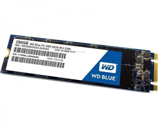 WD 250GB M.2 SATA III WDS250G2B0B Blue