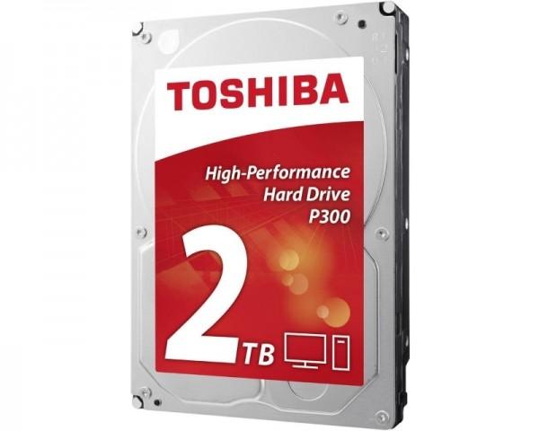 TOSHIBA 2TB 3.5'' SATA III 64MB 7.200rpm HDWD120EZSTA P300 series
