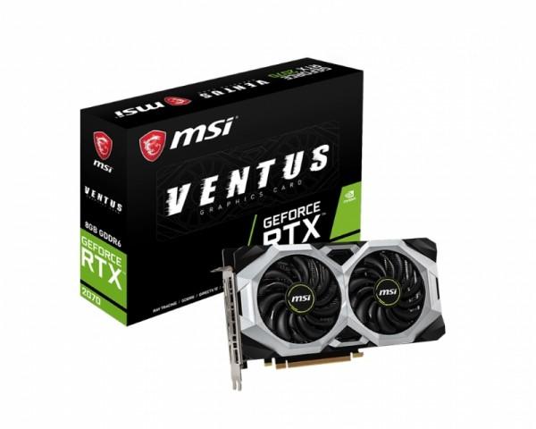 MSI nVidia GeForce RTX 2070 8GB 256bit RTX 2070 VENTUS OC