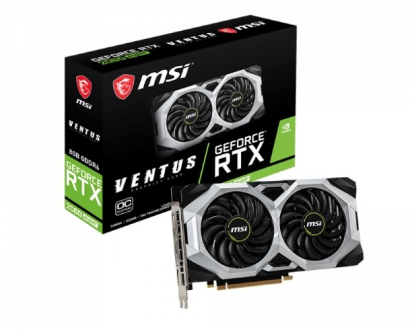 MSI nVidia GeForce RTX 2060 8GB 256bit RTX 2060 SUPER VENTUS OC
