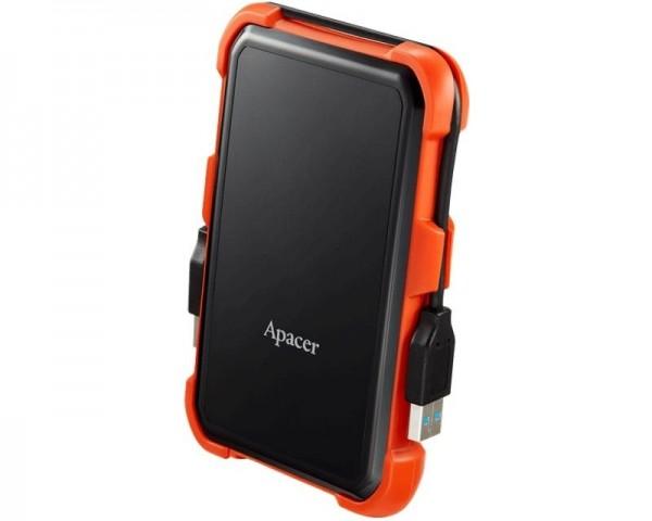 APACER AC630 2TB 2.5'' sivi eksterni hard disk crno narandzasti
