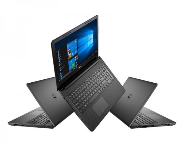 DELL Inspiron 3565 15.6'' AMD A9-9425 4GB 256GB SSD ODD crni 5Y5B