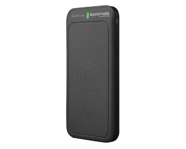 PROMATE AuraVolt-10 Qi Wireless 10,000mAh prenosiva baterija crna