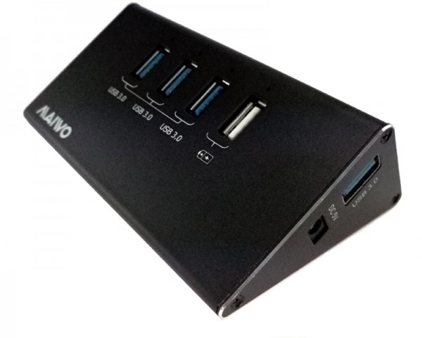 MAIWO USB HUB USB 3.0 4-Port WAC Adapter 1xCharging port max 2.4A