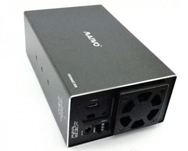 MAIWO Eksterno kućište za 2x HDD 3.5''  USB3.1 Type-C  2xHDD Raid
