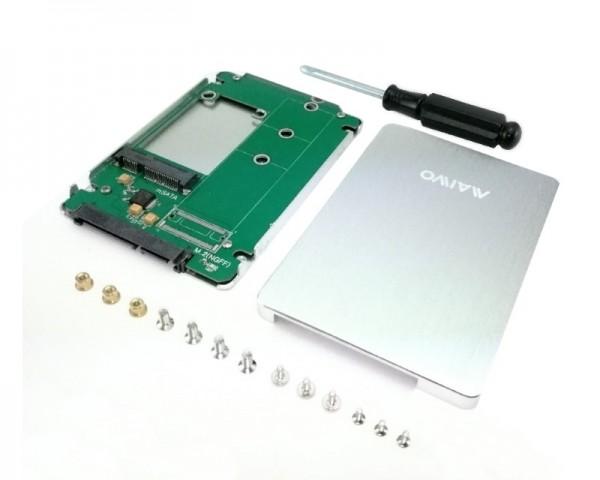 MAIWO Eksterno kućište za mSATA SSD to  2.5'' SATA