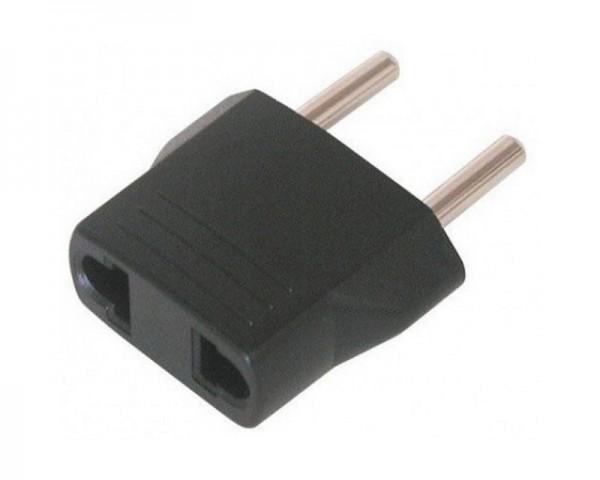 E-GREEN Adapter Euro utikač - USA utičnica crna