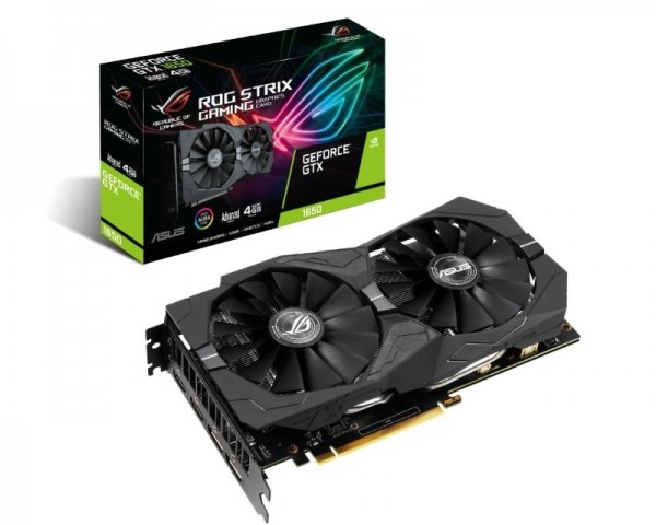 ASUS nVidia GeForce GTX 1650 4GB 128bit ROG-STRIX-GTX1650-A4G-GAMING