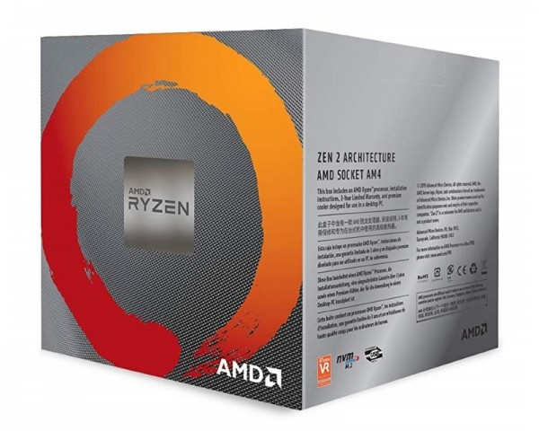 AMD Ryzen 7 3800X 8 cores 3.9GHz (4.5GHz) Box