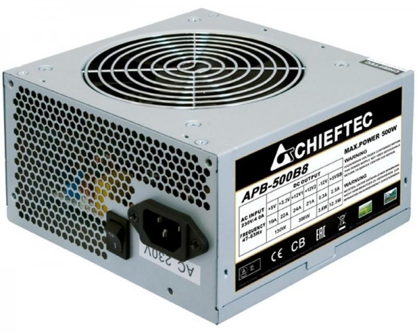 CHIEFTEC APB-500B8 500W napajanje bulk