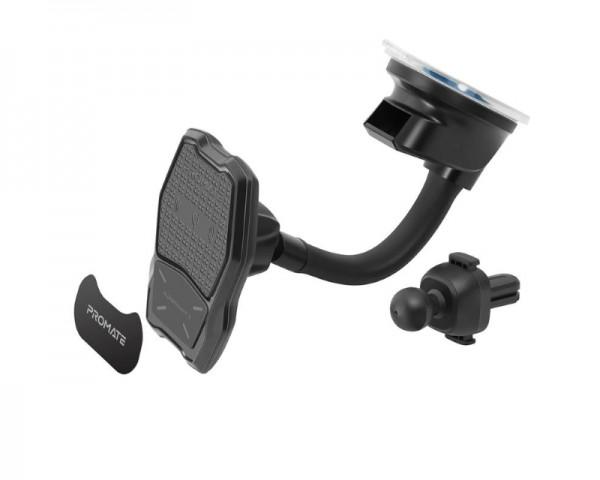 PROMATE Auramount 3 Wireless QI punjač za kola