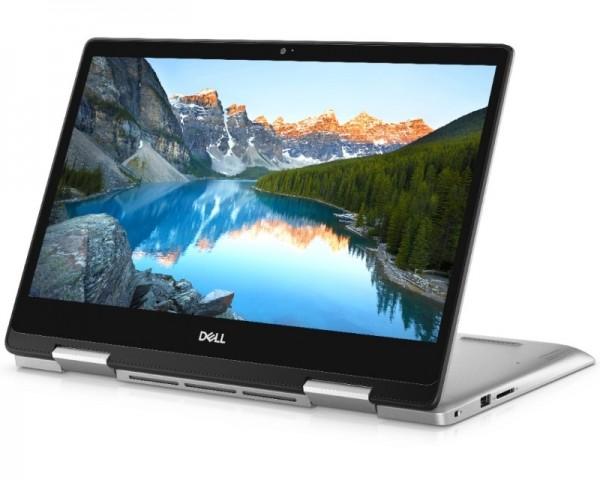 DELL Inspiron 5491 2-u-1 14'' FHD Touch i5-10210U 8GB 512GB SSD GeForce MX 230 2GB Backlit FP srebrni Win10Pro 5Y5B