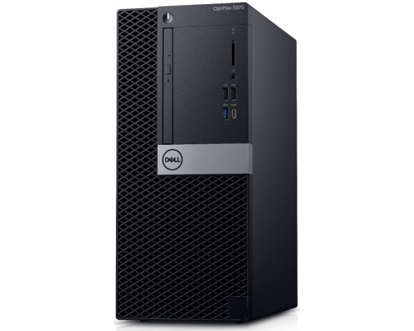 DELL OptiPlex 5070 MT i5-9500 8GB 256GB SSD DVDRW Win10Pro 3yr NBD