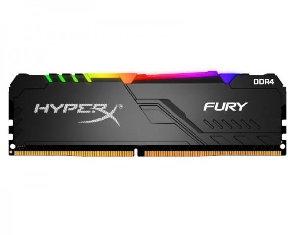KINGSTON DIMM DDR4 8GB 3200MHz HX432C16FB3A8 HyperX Fury RGB