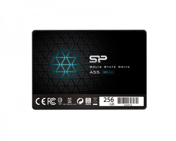 SILICON POWER 256GB 2.5'' SATA SP256GBSS3A55S25 A55 SSD