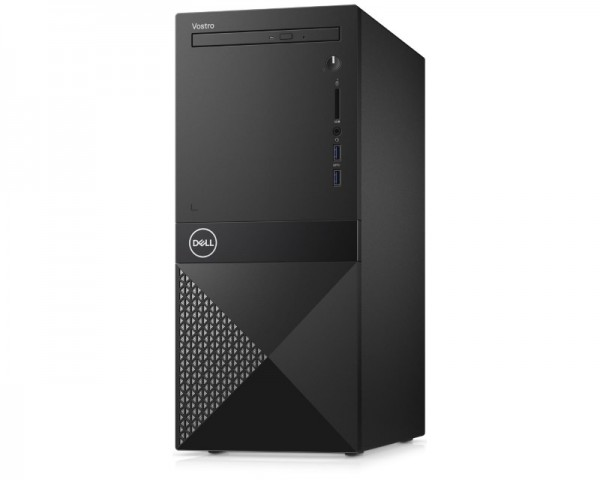 DELL Vostro 3670 MT i7-9700 8GB 256GB SSD 1TB GeForce GTX 1050Ti 4GB DVDRW Ubuntu 3yr NBD + WiFi