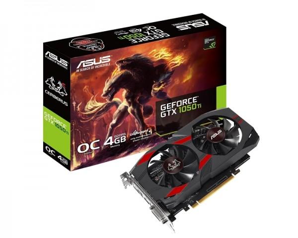 ASUS nVidia GeForce GTX 1050Ti 4GB CERBERUS-GTX1050TI-O4G