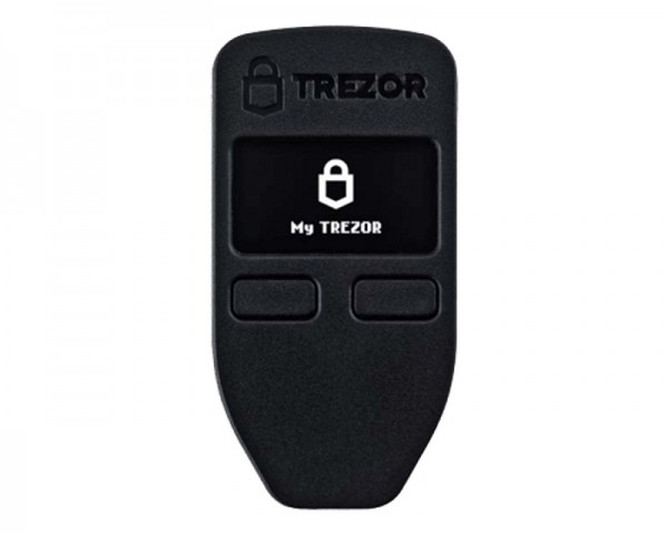 TREZOR Trezor Black Cryptocurrency Hardware Wallet digitalni novčanik