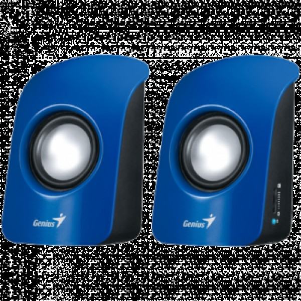 GENIUS SP-U115 2.0 zvučnici (Blue) - 31731006102 2.0, 1.5W, 200Hz-18KHz, 80dB