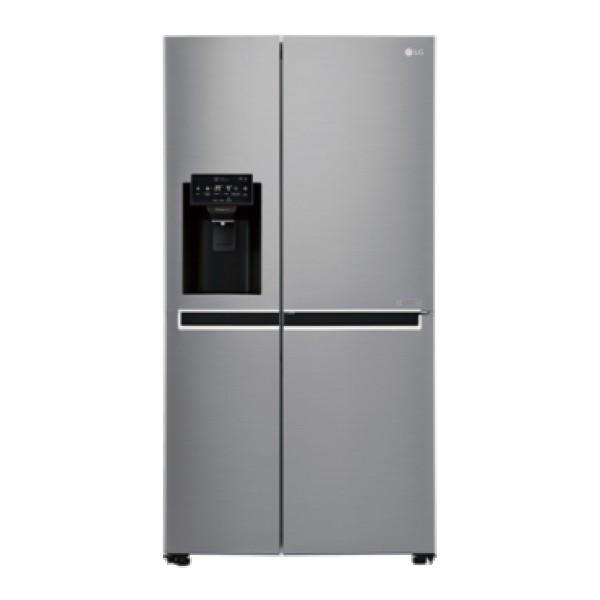 LG Side by side frižider GSL760PZXV No Frost, A+, 405 l, 196 l