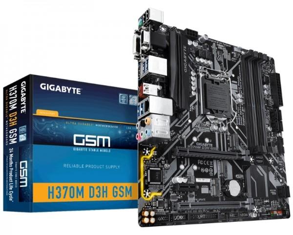 GIGABYTE H370M D3H GSM rev.1.0