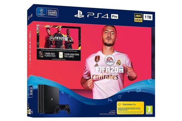 Konzola PS4 1TB Pro + Fifa 20