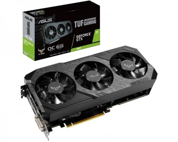ASUS nVidia GeForce GTX 1660 6GB 192bit TUF3-GTX1660-O6G-GAMING