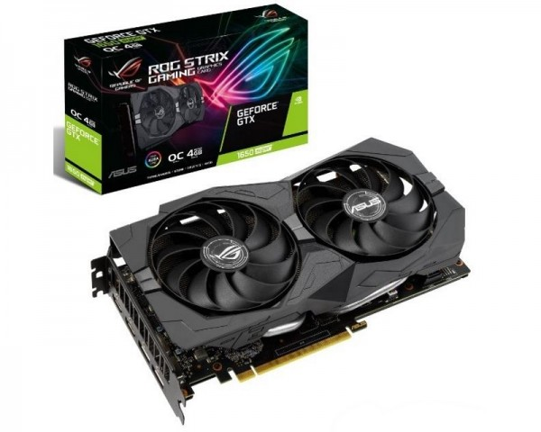 ASUS nVidia GeForce GTX 1650 SUPER 4GB 128bit ROG-STRIX-GTX1650S-O4G-GAMING