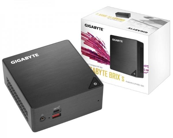 GIGABYTE GB-BRI3H-8130 BRIX Mini PC Intel Dual core i3-8130U 2.2GHz (3.4GHz) 8GB 240GB