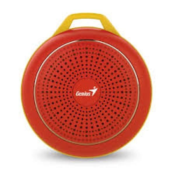 GENIUS bluetooth zvučnik SP-906BT Crveni  Mono, 3W, 40mm, 100Hz - 20KHz