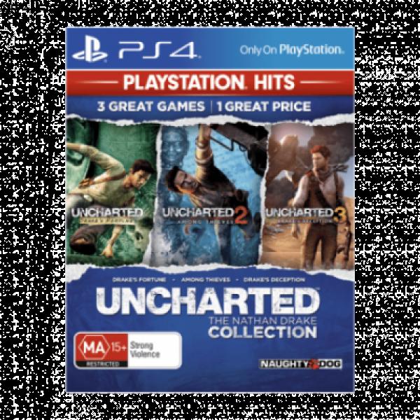 PS4 Uncharted: The Nathan Drake Collection - Playstation Hits Akciona avantura