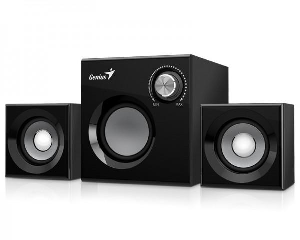 GENIUS SW-2.1 370 2.1 crni zvučnici