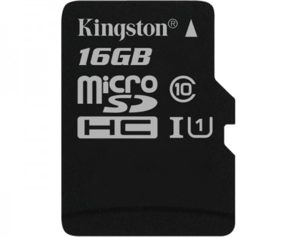 KINGSTON UHS-I MicroSDHC 16GB class 10 SDC10G216GBSP
