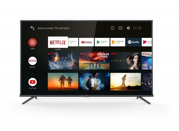 TCL 43EP660 Smart TV 43'', 4K Ultra HD, DVB-TT2CS2