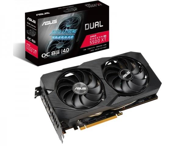 ASUS AMD Radeon RX 5500 XT 8GB 128bit DUAL-RX5500XT-O8G-EVO