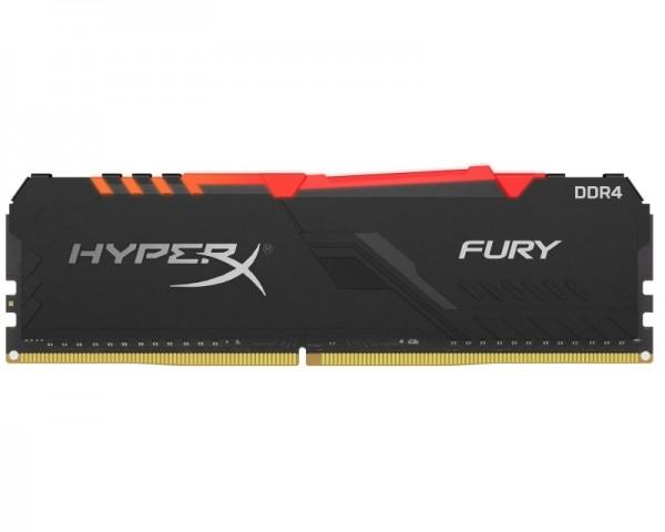 KINGSTON DIMM DDR4 16GB 3733MHz HX437C19FB3A16 HyperX Fury RGB