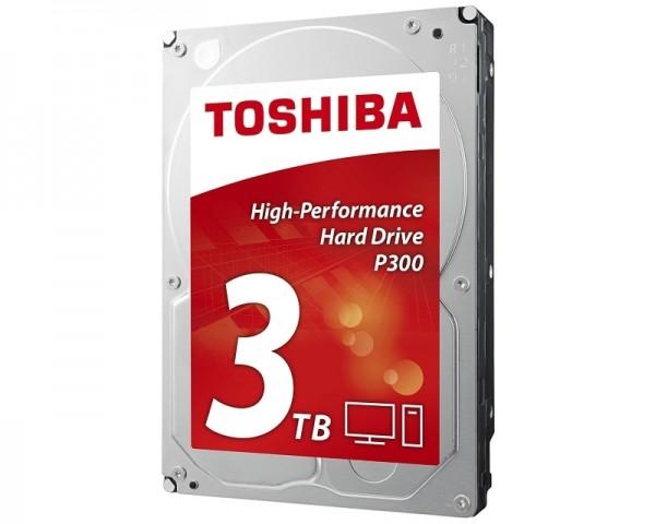 TOSHIBA 3TB 3.5'' SATA III 64MB 7.200rpm HDWD130EZSTA P300 series bulk