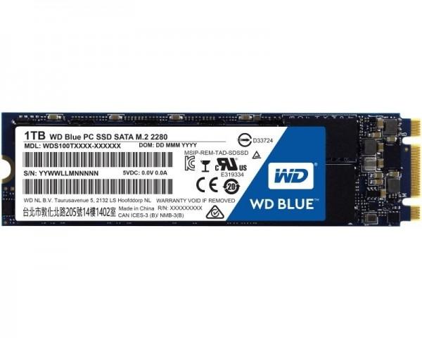 WD 1TB M.2 SATA III WDS100T2B0B Blue