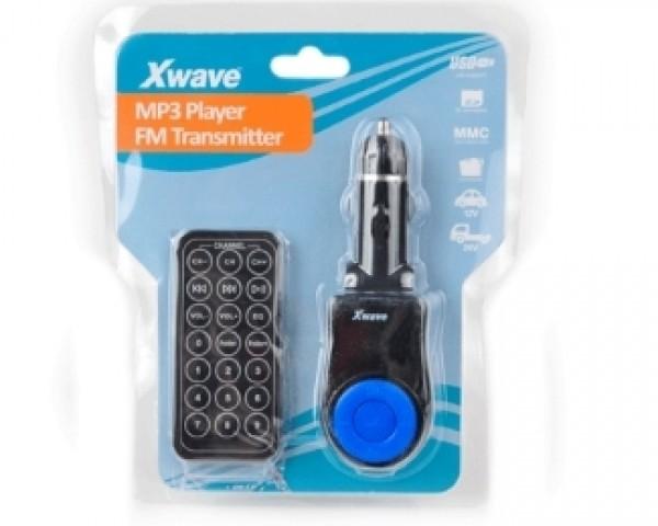 XWAVE FM Transmitter BT63 plavi SDUSB + daljinski