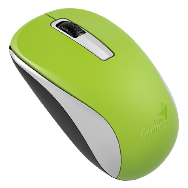 GENIUS bežični miš NX-7005 (Zeleni) Optički, 1200dpi, 2.4GHz, Simetričan
