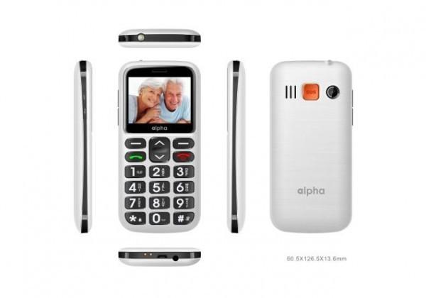Mobilni Telefon Alpha S1 - Beli